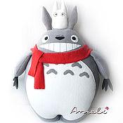 Куклы и игрушки handmade. Livemaster - original item Totoro toy pillow 50cm. Handmade.