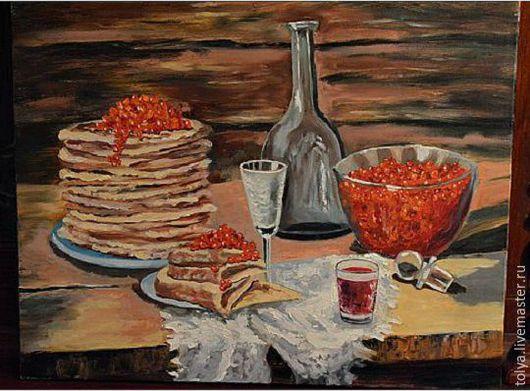 Холст на подрамнике, 40х50 см.,  ручная работа, выполнена при помощи мастихина и кисти, картина в гостиную, картина на кухню.