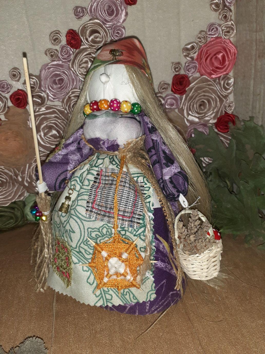 Обереговая кукла Баба Яга Фрося, Народная кукла, Кропоткин,  Фото №1