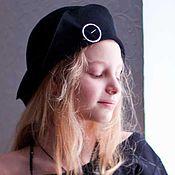 Аксессуары handmade. Livemaster - original item A hat made of velour with fields children`s. Handmade.