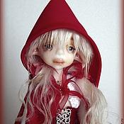 Куклы и игрушки ручной работы. Ярмарка Мастеров - ручная работа Шарнирная кукла Красная шапочка. Handmade.