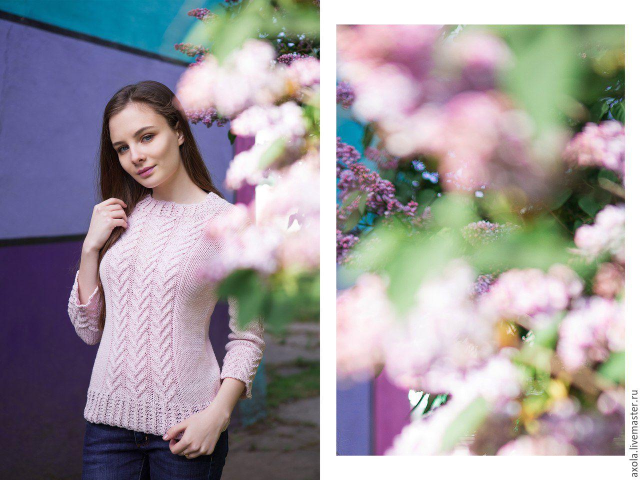 """Пуловер """"Весенний"""", Пуловеры, Москва, Фото №1"""