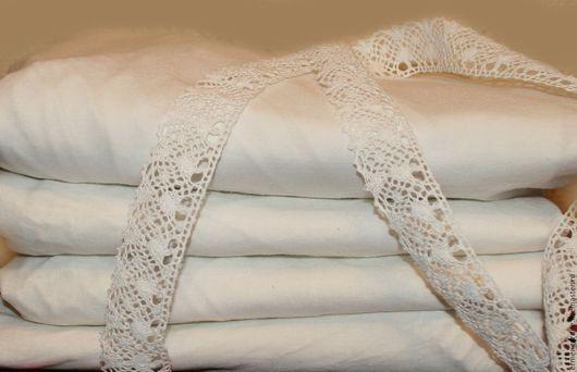 Текстиль, ковры ручной работы. Ярмарка Мастеров - ручная работа. Купить Простыня на резинке. Handmade. Белый, простыня, постельные принадлежности