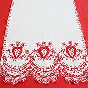 Свадебный салон ручной работы. Ярмарка Мастеров - ручная работа Хлебосольный свадебный рушник, модель 219Т. Handmade.