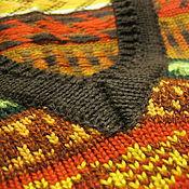 Одежда ручной работы. Ярмарка Мастеров - ручная работа Жилет по мотивам шотландского жаккарда - 2. Handmade.