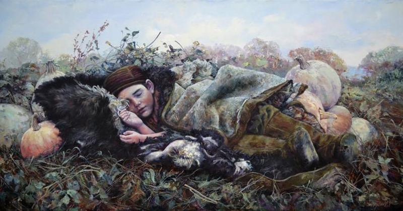 Разрешите представить: гениальный художник Ирик Мусин и его бесконечно искренние работы