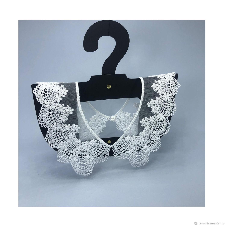 Lace collar. White collar, Collars, Novosibirsk,  Фото №1
