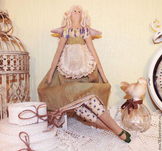 Куклы Тильды ручной работы. Ярмарка Мастеров - ручная работа. Купить Тильда Лавандовая Фея.. Handmade. Тильда, тильда ангел