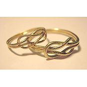 Свадебный салон ручной работы. Ярмарка Мастеров - ручная работа Эксклюзивные обручальные кольца из золота под заказ. Handmade.