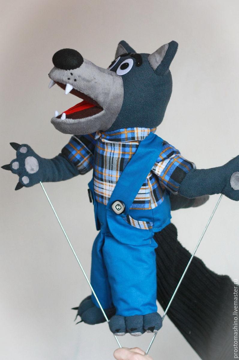 Перчаточная кукла своими руками волк 36