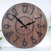 Для дома и интерьера ручной работы. Ярмарка Мастеров - ручная работа Часы настенные 60cм. Handmade.