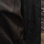 Для дома и интерьера handmade. Livemaster - original item Curtain fabric ,wenge color. Handmade.