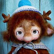 Stuffed Toys handmade. Livemaster - original item Moosie. Handmade.