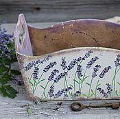 """Для дома и интерьера ручной работы. Ярмарка Мастеров - ручная работа """"Lavender """" Ящичек. Handmade."""