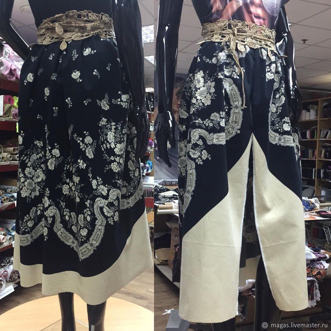 Fabrics:corduroy SMALL HEM-COUPON-ITALY, Fabric, Moscow,  Фото №1
