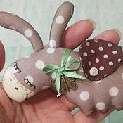 Куклы и игрушки ручной работы. Ярмарка Мастеров - ручная работа брошка сонный ослик  (4 варианта). Handmade.