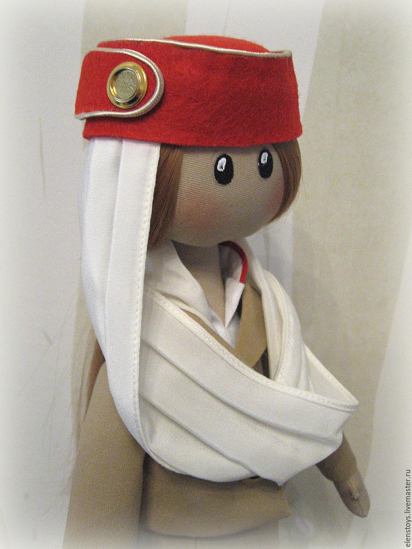 99cd37630d51 Ярмарка Мастеров - ручная работа. Купить кукла стюардесса Emirates Airlines.
