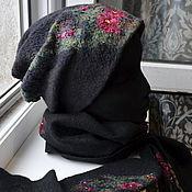 Аксессуары ручной работы. Ярмарка Мастеров - ручная работа Комплект из шапки,шарфа и варежек. Handmade.