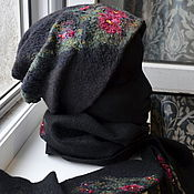 Аксессуары handmade. Livemaster - original item Set of hats,scarves and mittens. Handmade.