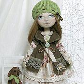 Куклы и игрушки ручной работы. Ярмарка Мастеров - ручная работа Милена, интерьерная текстильная кукла.. Handmade.
