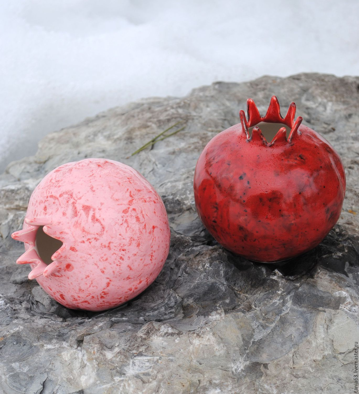 "Вазочка ""Розовый гранат"""