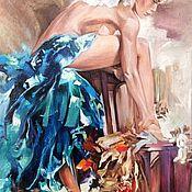 """Картины ручной работы. Ярмарка Мастеров - ручная работа """"В танец."""". Handmade."""