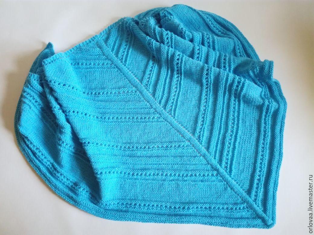 Shawl crochet pattern 'blue', Shawls, Moscow,  Фото №1