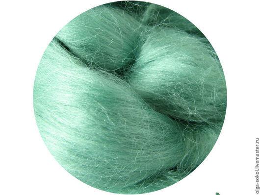 Шелковые волокна Тусса (Tussah) - лягушка