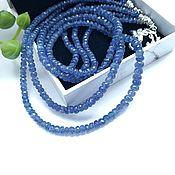 Украшения handmade. Livemaster - original item Necklace with tanzanite