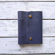 Канцелярские товары handmade. Livemaster - original item Leather notebooks A6. Handmade.