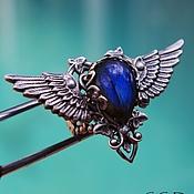 Украшения handmade. Livemaster - original item Ring silver Calypso Blue Labradorite Blue. Handmade.