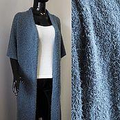 Одежда handmade. Livemaster - original item Long knitted cardigan. Handmade.