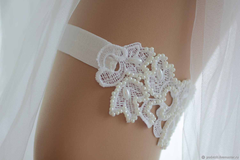 06983407e Clothing   Accessories handmade. Garter for the bride wedding Vintage.  Wedding Dreams.