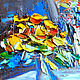 'Morning celebration of Life' oil painting on canvas. Pictures. Multicolor Gallery. Online shopping on My Livemaster.  Фото №2