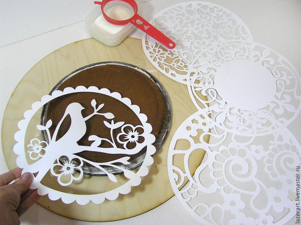 Бисквитный торт в виде цифры фото 2