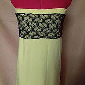 Одежда ручной работы. Ярмарка Мастеров - ручная работа Желтое платье 2 в 1. Handmade.