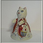 """Сувениры и подарки ручной работы. Ярмарка Мастеров - ручная работа Колокольчик """"Кошки-мышки"""". Handmade."""