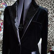 Одежда ручной работы. Ярмарка Мастеров - ручная работа Бархатный пиджак Стиль. Handmade.