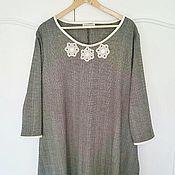 Одежда ручной работы. Ярмарка Мастеров - ручная работа Платье Орлеан, размер L-XL. Handmade.