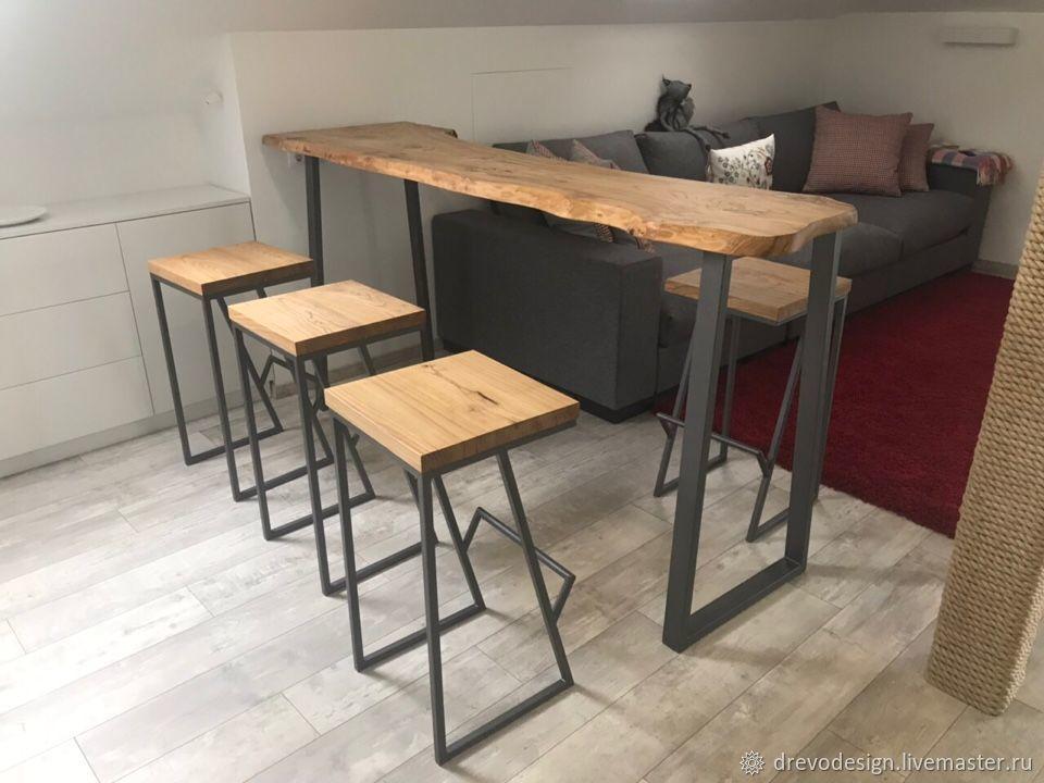 Bar stool from elm, Tables, Belgorod,  Фото №1