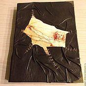 """Канцелярские товары ручной работы. Ярмарка Мастеров - ручная работа Блокнот """"Да Винчи"""". Handmade."""