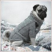 """Для домашних животных, ручной работы. Ярмарка Мастеров - ручная работа Свитер для собаки """"Прогулочный"""". Handmade."""