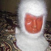 Аксессуары ручной работы. Ярмарка Мастеров - ручная работа шапочка-шлем №21. Handmade.