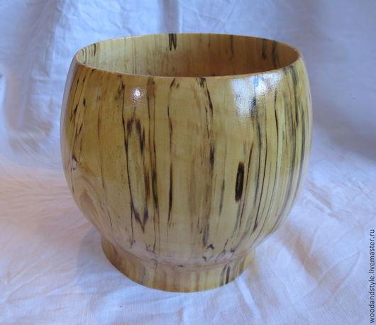 Вазы ручной работы. Ярмарка Мастеров - ручная работа. Купить Декоративные вазы из березы. Handmade. Натуральное дерево, интерьерное украшение