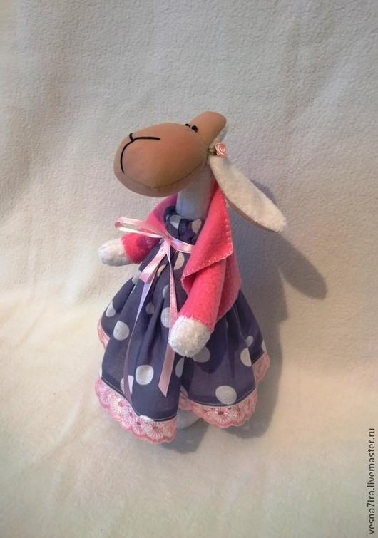 """Куклы и игрушки ручной работы. Ярмарка Мастеров - ручная работа. Купить набор для шитья куклы :""""Овечка -модница"""". Handmade. Овечка"""
