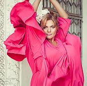 Одежда ручной работы. Ярмарка Мастеров - ручная работа Платье в пол розовое. Handmade.