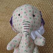 Куклы и игрушки ручной работы. Ярмарка Мастеров - ручная работа Мой любимый слоненок. Handmade.