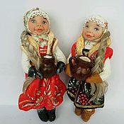 Куклы и пупсы ручной работы. Ярмарка Мастеров - ручная работа Ватные ёлочные игрушки. Handmade.