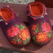 """Обувь ручной работы. Ярмарка Мастеров - ручная работа Тапотули """"Глафира"""". Handmade."""