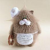Куклы и игрушки handmade. Livemaster - original item Cat Cook.. Handmade.